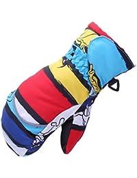 Samgu Boy Girl invierno guantes de bebé guantes de niños al aire libre guantes de snowboard para niños