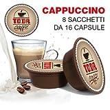 128 Kapseln Di Cappuccino - Comp. Lavazza A Modo Mio - Gattopardo
