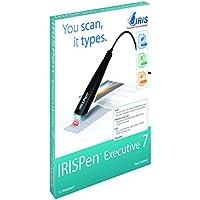 IRIS - IRISPen 457887 Executive 7 Pen Scanner with OCR I Recognising Text & Graphics Pen I Text Recognition I USB I Digital Highlighter I Reader I Translator I Pen Scanner I Mac & Windows - Black