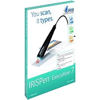 IRIS - IRISPen Executive 7 Surligneur Numérique avec OCR | Reconnait l'écriture Manuscrite | Batterie Rechargable | USB | Surligneur Digital | Stylo Numérique | Traduit Plus de 40 Langues - Noir