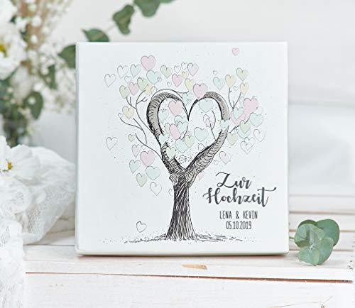 Geldgeschenk - Geld Verpackung -zur Hochzeit personalisierte