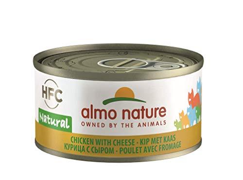 almo nature Classic Lot de 24 boîtes de Nourriture au Poulet, 70g