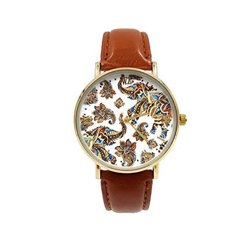 Woodstock Zambon® - Reloj de Elefantes Vintage