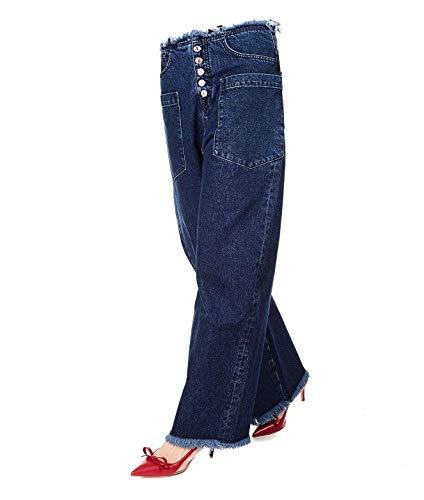 7 For All Mankind JSDCR990MTRINSE Pantalon en Coton pour Femme Bleu - Bleu - W29