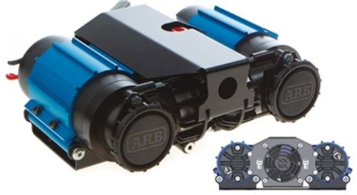 Price comparison product image ARB CKMTA12 '12V' On-Board Twin High Performance Air Compressor by ARB