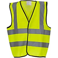 Gilet haute visibilité pour enfant taille-Orange/jaune