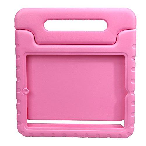 NEWSTYLE Apple iPad 2/3 / 4 Eva Stoßfeste Schutzhülle Tragbar für Kinder mit Ständer Schutzhülle Standfunktion für iPad 2/3 / 4 Tablet,- Pink