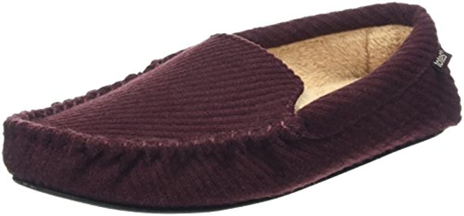 Totes Textured MOCC W/Sherpa Slippers, Zapatillas Bajas para Hombre