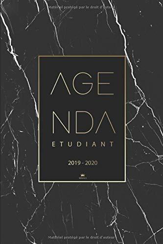 Agenda Etudiant 2019 2020: Calendrier 2019-2020 | Agenda semainier, Planificateur, Agenda Journalier Scolaire pour l'année Scolaire de Août 2019 à Août 2020