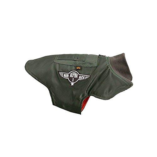 ALPHA Industries Dog Nylon Flight Jacket olive, Größe:XXXL Alpha Industries Flight Jackets