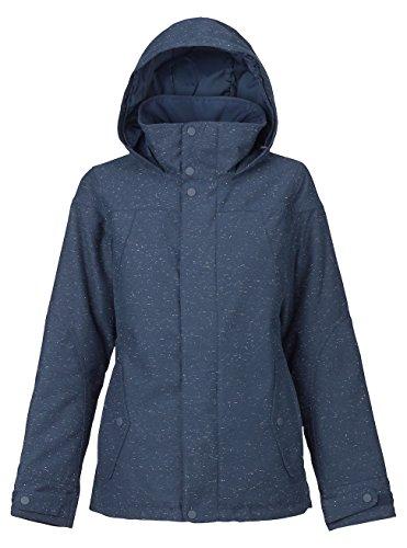 Burton Damen Jet Set Jacket Snowboardjacke, Mood Indigo Fleck, L -