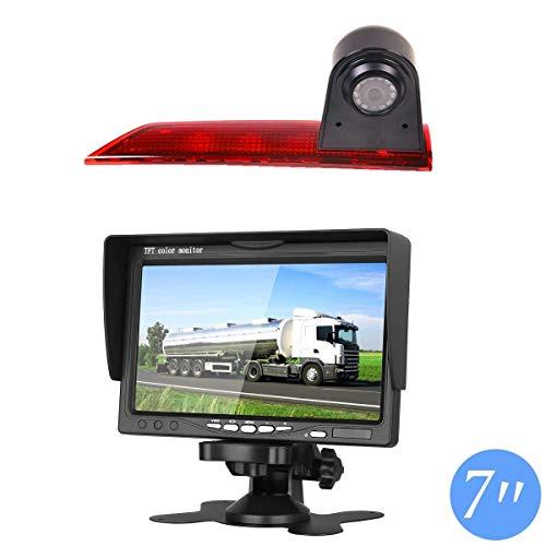 Auto Dritte Dach Top Mount Bremsleuchte Kamera Bremslicht Rückfahrkamera für Ford Transit Custom V362 2012-2019 +7.0