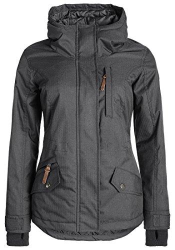 DESIRES Bellissa Winterjacke, Größe:XL;Farbe:Dark Grey (2890) (Günstige Frauen Jacken)