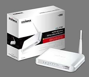 Edimax 3G-6200n - wireless routers (128-bit WEP, 64-bit WEP, WPA, WPA-PSK, WPA-TKIP, WPA2, WPA2-PSK, Ethernet (RJ-45), IEEE 802.11b, IEEE 802.11g, IEEE 802.11n, IEEE 802.3, IEEE 802.3u, External, Weiß, 179 x 133 x 25 mm)