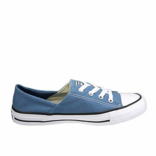 CONVERSE - CTAS CORAL OX 555896C - lemon haze Blu jeans