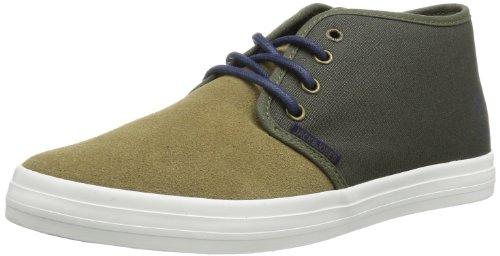 JACK & JONES JJ OSLO SUEDE ORG 12075185 Herren Sneaker Grün (Elmwood)
