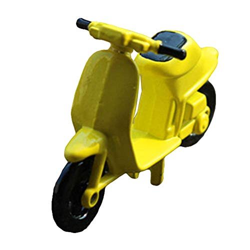 rycnet Miniatur-Motorrad-Modell im Maßstab 1/12, Legierung, gelb (49cc Mini-gas-chopper)