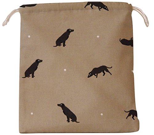 b6304f2bd4 Sophie Allport Labrador Fabric. impermeabile con coulisse Wash Bag Borsa per  cosmetici