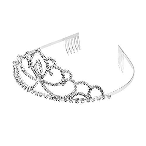 Fliyeong Premium Princess Tiaras Crown Junggesellinnenabschied Cosplay Kleid Kostüme Zubehör