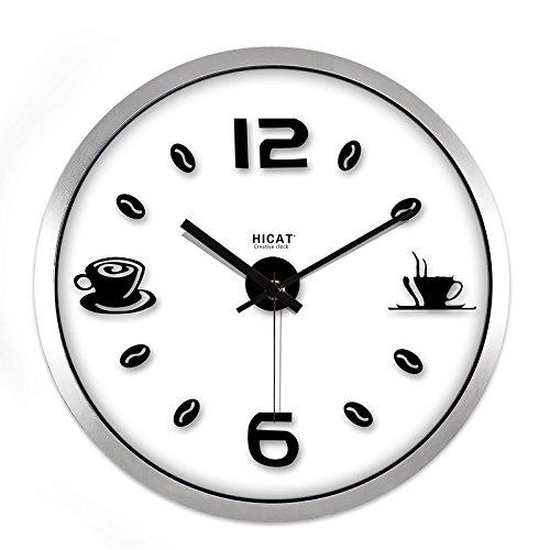 WERLM Orologio da parete casa orologio da parete personalità ...