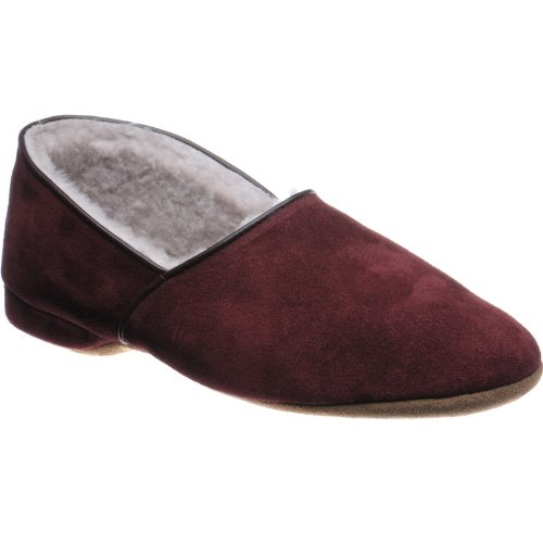 Herring  Herring Earl, Chaussons pour homme Rouge - Wine Suede
