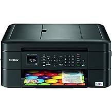 Brother MFC-J480DW - Impresora multifunción de tinta (WiFi, fax, impresión automática a doble cara, alimentador de documentos), color negro