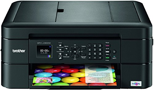 Brother MFCJ480DWG5 MFC-J480DW G5 A4 Color USB Inkjet Farb-Tinten (4-in-1)