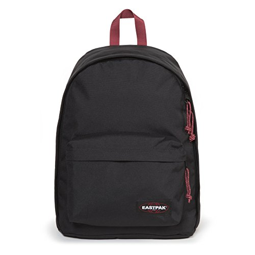 Eastpak Out Of Office Rucksack, 44 cm, 27 L, Schwarz (Black-Red)