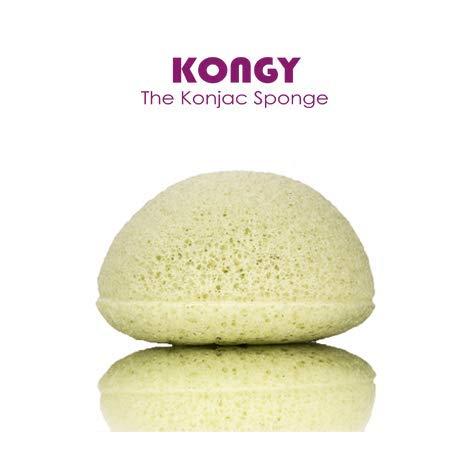 Esponja Facial Konja Extractos de plantas - Todo Tipo de Piel - Kongy