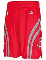 adidas Swingman Pantalones Cortos, todo el año, hombre, color Nba Houston Rockets 6, tamaño XL