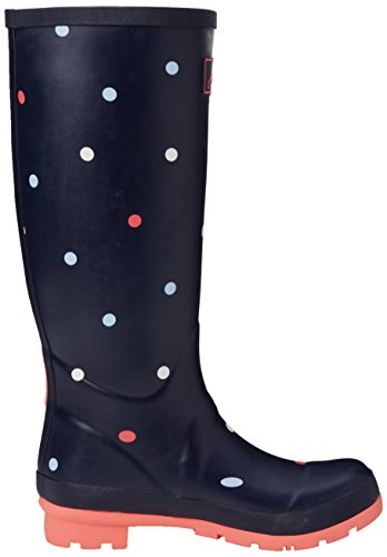 Joules - Wellyprint, Stivali da pioggia Donna Blue (Anya Spot)