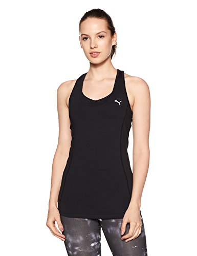 PUMA Damen Essential Layer Tank Tanktop, Puma Black, M -