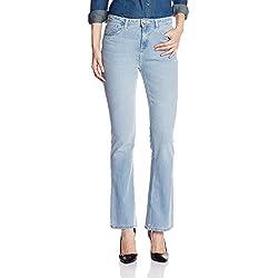 Jealous 21 Women's Bootcut Jeans (JY1951_Blue_30)