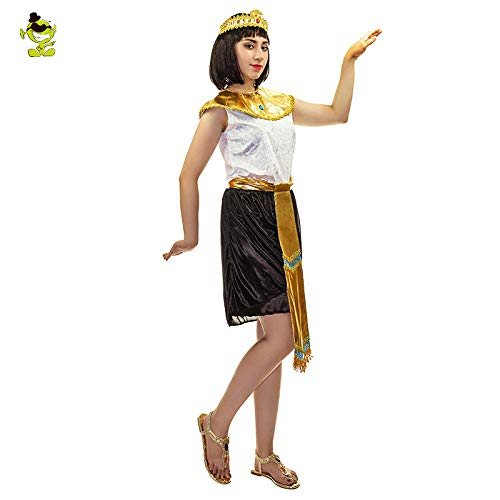 Kostüm Vampir Kaiserin - GAOGUAIG AA Alte Cleopatra Kostüme Pharao Kaiserin Cleopatra Königin Priester Halloween Cosplay Kleidung for Frauen Kostüm SD (Color : Onecolor, Size : Onesize)