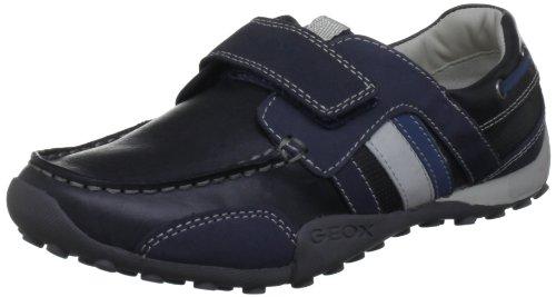 Geox J SNAKE MOC E J3216E04332C0700, Jungen Sneaker, Blau (NAVY/AVIO C0700), EU 33 Snake Moc