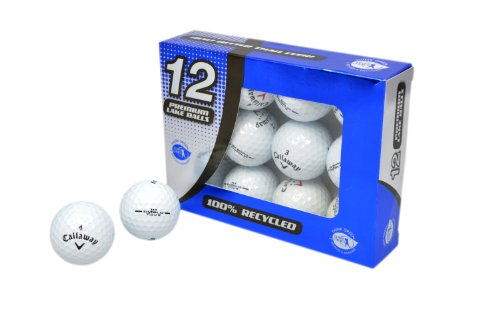 Second Chance Callaway 12 Balles de golf de récupération...