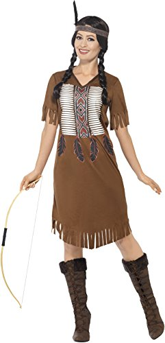 Smiffys 45976S donna Native western Warrior Princess costume (Small)