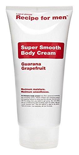 RECIPE FOR MEN Crème Hydratante Rafraîchissante au Guarana