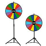 Colorful Dry Erase Spinning Preis Rad mit Stativ 61cm mit 14Slots