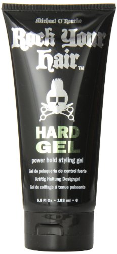 Rock Your Hair - Power Hold Styling Gel - Extra starkes Haargel 163ml (Extra Hold Styling Gel)