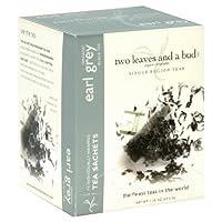 Two Leaves and a Bud Organic Earl Grey -- 15 Tea Bags