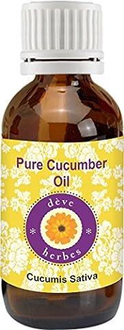 Pure Cucumber Oil 30ml (Cucumis sativus) 100% Natural Cold Pressed