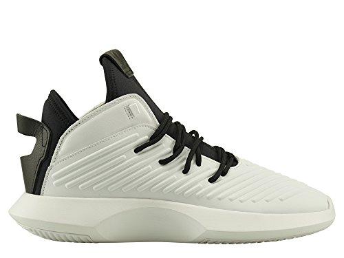 adidas Herren Crazy 1 ADV Gymnastikschuhe Elfenbein (Ftwr White/core Black/hi-res Red S18)