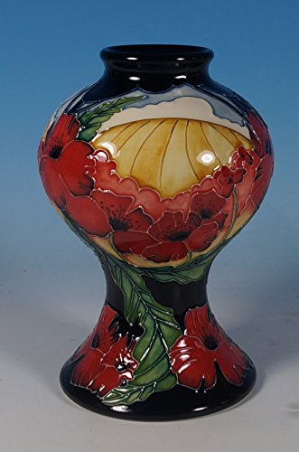 A Moorcroft Forever England Poppy Ww1 Remembrance 6