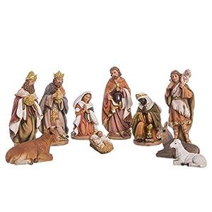 Belén de Navidad con Reyes