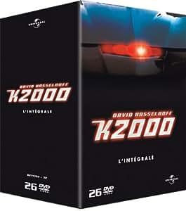 K2000: L'intégrale de la série, Saison 1 à 4 - Coffret 26 DVD [Import belge]