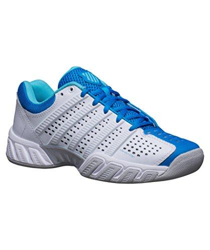 K-Swiss Big Shot Light 2,5 Carpet Indoor Tennis scarpa donna - bianco / blu