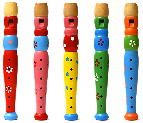 Elagon Childrens/Beginners Wooden Recorder - Various Colours.