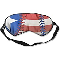 Sleep Mask American Flag Baseball Eye Cover Blackout Eye Masks,Soothing Puffy Eyes,Dark Circles,Stress,Breathable... preisvergleich bei billige-tabletten.eu