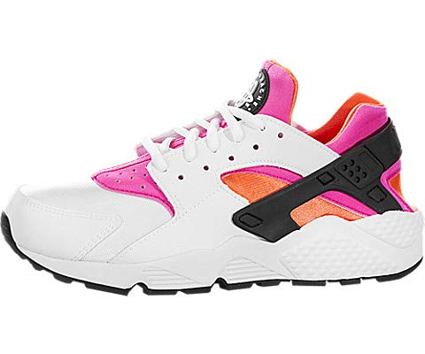 Nike Donna Air Huarache addestratori 634835 scarpe da tennis (UK 4,5 Us 7 Eu 38, Bianco Bianco Total